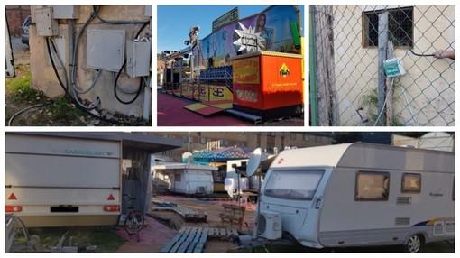 Luna park di Taggia: dopo le indagini dei Carabinieri 12 giostrai denunciati per furto di energia elettrica