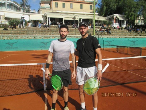 """Tennis: domani al TC Sanremo, semifinali del torneo """"open"""" di singolare maschile"""