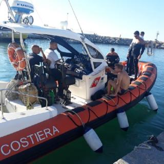 Operazione 'reti fantasma': liberato il 'Pilone di Cervo' da oltre 50 kilogrammi di attrezzatura (foto)