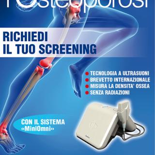 Da Sanremobio, stop all'osteoporosi. martedì prossimo, test di densitometria ossea a ultrasuoni