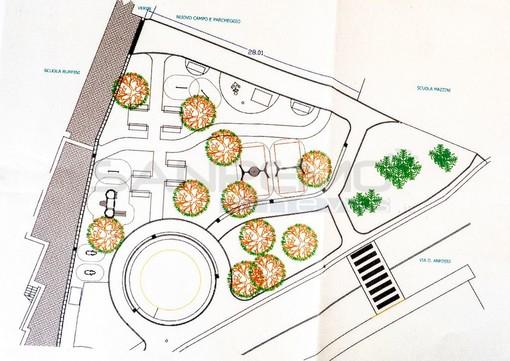 Un nuovo parco giochi per bambini a Taggia: giunta approva il progetto per via Anfossi (Foto)
