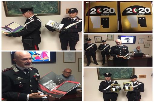"""Imperia: presentato il Calendario Storico dei Carabinieri 2020, il comandante Mommo """"Unione di quotidiano operare e ordinario eroismo"""" (Foto e video)"""