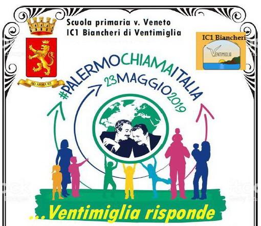 Ventimiglia: domani, manifestazione in ricordo del 27° anniversario della morte di Falcone e per creare un filo diretto con Palermo