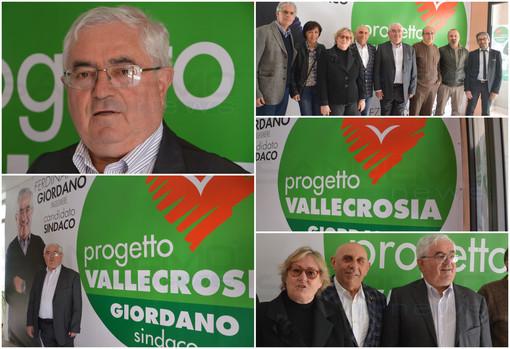 """Con 'Progetto Vallecrosia' il Sindaco uscente Ferdinando Giordano ufficializza la sua candidatura alle amministrative """"Ora finiamo il lavoro"""" (Foto e Video)"""