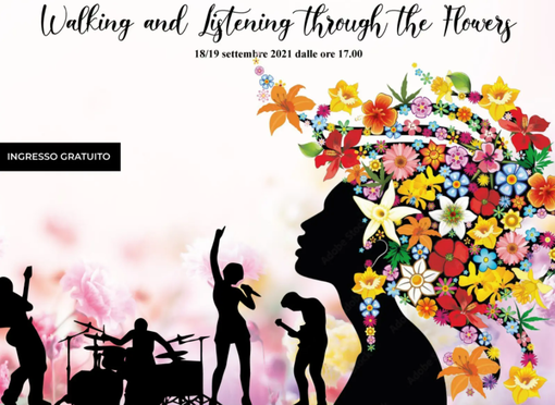 Evento 'Walking and listening through the flowers' a Villa Ormond di Sanremo