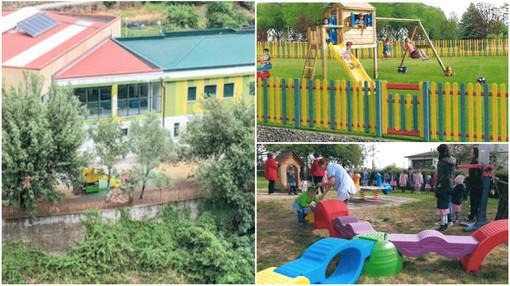 Badalucco immagina il nuovo parco giochi della scuola dell'infanzia, il Comune chiede fondi a Roma