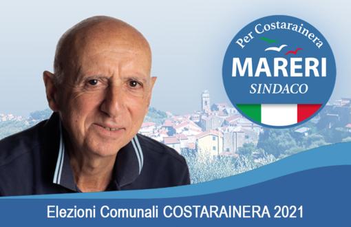 Elezioni a Costarainera: amministrazione uscente spaccata, il vicesindaco Mareri candidato con una sua lista