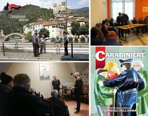 Prevenzione alle truffe: i Carabinieri di Ventimiglia incontrano i cittadini