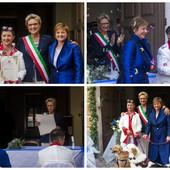 A Pontedassio la prima unione civile 'rosa' della Valle Impero: Barbara e Francesca si sono sposate