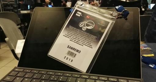 #Sanremo2019: pass falso per vivere da vicino il Festival: fermata dal servizio di vigilanza