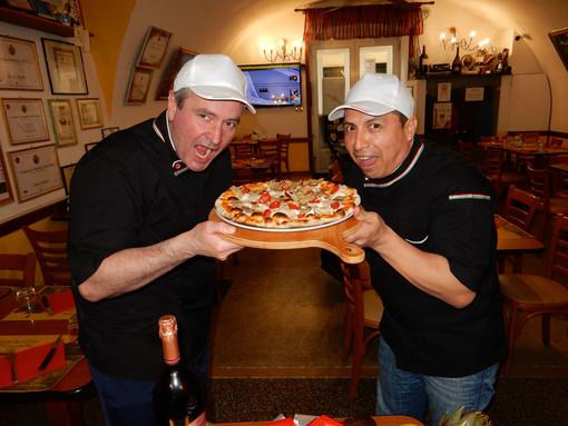 """Prosegue alla Sant'Ampelio la possibilità di gustare la pizza """"Monet"""" terza al Campionato del Mondo 2014"""