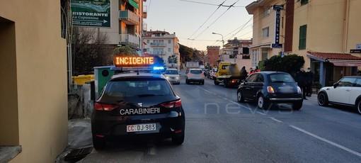 Bordighera: scooter investe pedone fuori dalle strisce in Arziglia, mobilitazione di soccorsi