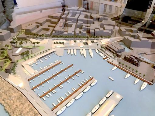 La 'Porti di Monaco' sarà socio di minoranza nel progetto del futuro porto vecchio di Sanremo (Video)