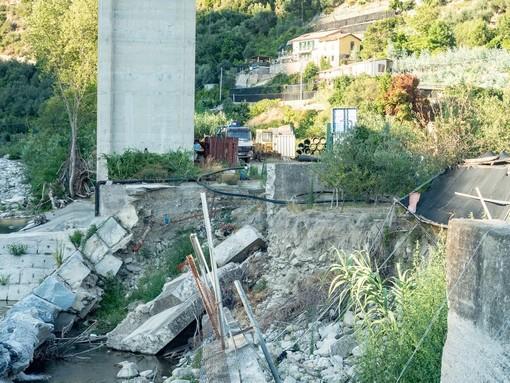 Taggia: detriti sull'argine in regione Bruxiae, gli abitanti si appellano a Regione Liguria