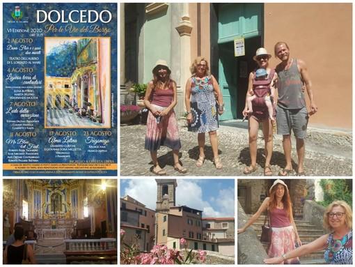 """Dolcedo: dal 2 al 23 agosto la rassegna musicale e teatrale """"Per le vie del borgo"""". Oggi la presentazione (foto)"""