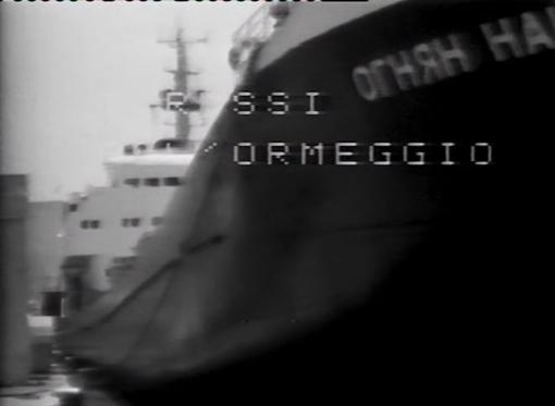 A Imperia nel 1979, le navi Russe erano di casa al porto