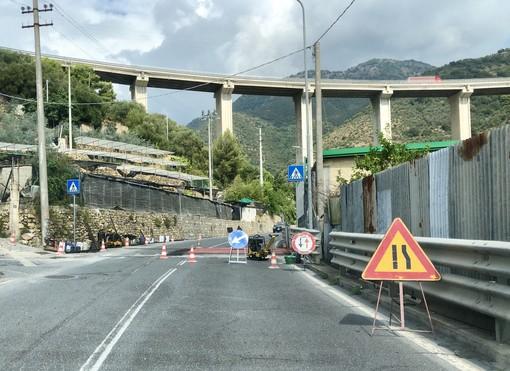 Taggia: nuovo passaggio pedonale rialzato in via Primo Maggio, a breve ne arriveranno altri tre