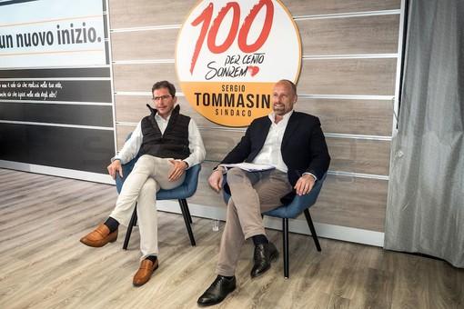 Da sinistra, Enrico Ingenito e Sergio Tommasini