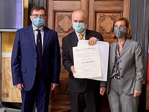 Il vicedirettore dell'Anci Liguria, Luca Petralia, nominato 'Cavaliere della Repubblica Italiana' (foto)