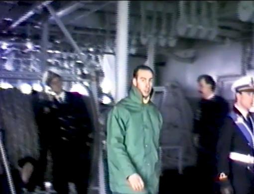 """Sanremo 20 marzo 1986, in porto la nave """"Garibaldi"""" alla sua prima missione"""