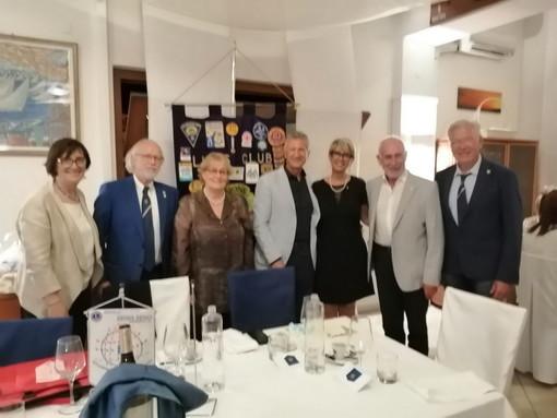 Passaggio delle consegne al Lions Club Sanremo Matutia, Gianni Ostanel riconfermato Presidente