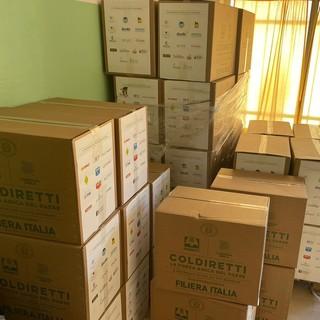 """Pasqua solidale, il bilancio di Coldiretti: """"Donati oltre 12 mila chili di prodotti made in Itali per i più bisognosi"""""""