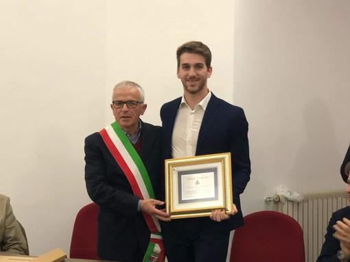Santo Stefano al Mare: oggi in comune la premiazione del campione del mondo di canottaggio Federico Garibaldi