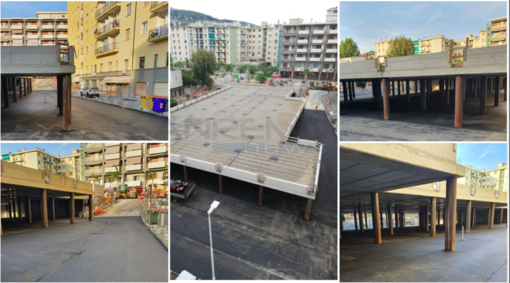 Arma di Taggia: terminati i lavori di asfaltatura alla Buca delle Palme, il parcheggio riaprirà entro inizio luglio