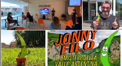 Jonny Filo, il cartone animato che promuove la valle Argentina: presentato il progetto (foto e video)