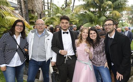 Oggi giornata speciale per la nostra redazione: sono convolati a nozze Pietro Zampedroni e Serena Signorelli (foto)