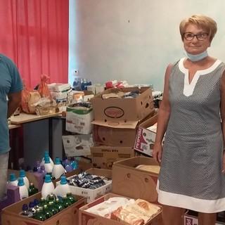 Vallecrosia: tanta solidarietà nell'ultima raccolta alimentare organizzata dalla ACEB