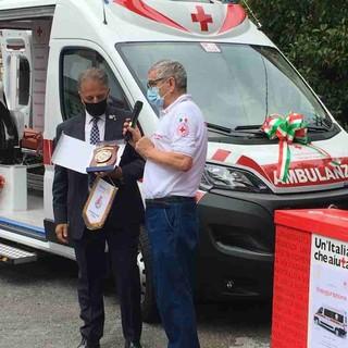 Imperia: il Rotary Club consegna un'ambulanza alla Croce Rossa (foto)