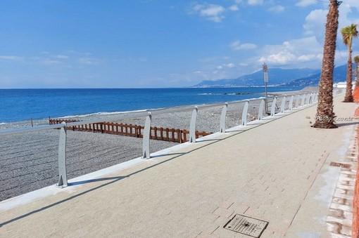 Vallecrosia: a inizio luglio l'inaugurazione del primo nuovo tratto di passeggiata mare