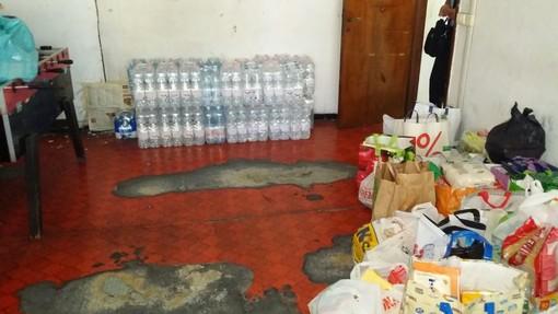 Raccolta straordinaria di generi alimentari e beni di prima necessità per nuclei familiari in Valle Impero