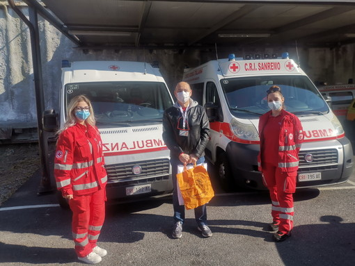 Emergenza sanitaria: l'Associazione di Volontariato Oncologico NonSiamoSoli di Sanremo a sostegno della Croce Rossa Italiana locale