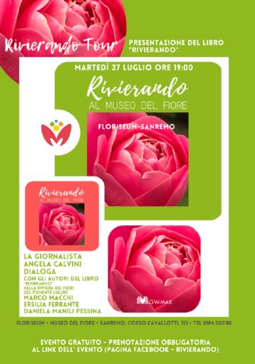 Sanremo: martedì prossimo, presentazione libro 'Rivierando nella Riviera dei Fiori del Ponente Ligure'