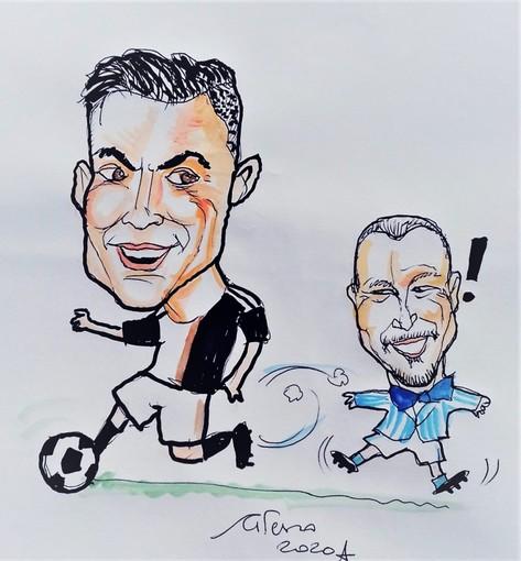 In esclusiva per il Punto la foto di Ronaldo al Villaggio dei Fiori