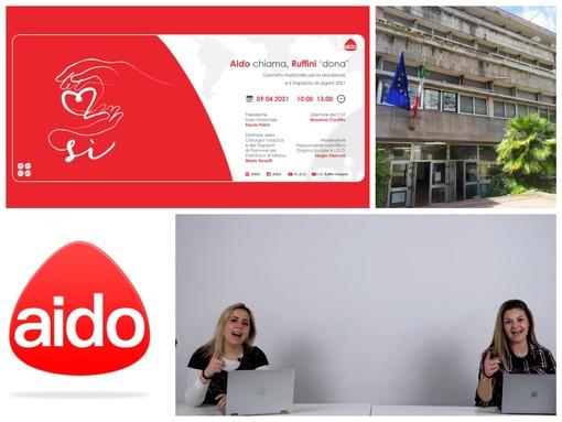 Ruffini Live for Lives per Aido, venerdì gli studenti imperiesi in diretta per la  'Giornata Nazionale per la Donazione degli Organi' (video)