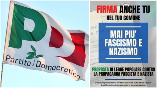 """Il PD di Sanremo sostiene la raccolta firme per la """"Legge antifascista di Stazzema"""""""