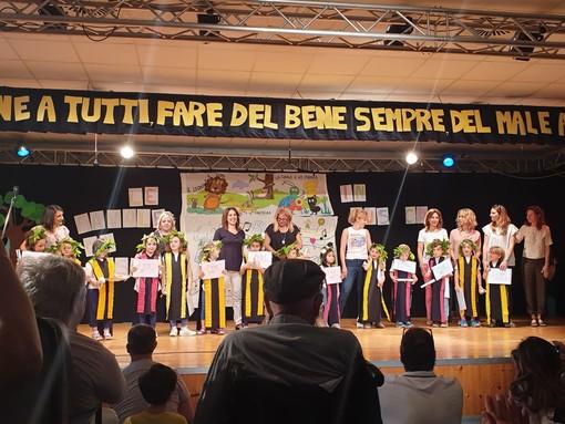 Sanremo: i bimbi della scuola dell'infanzia Arcobaleno portano in scena Esopo, il ringraziamento dei genitori