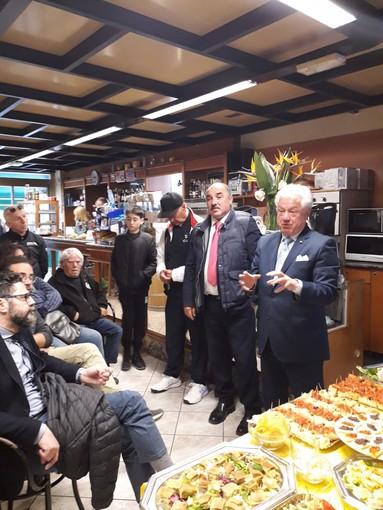 """Elezioni a Ventimiglia: il candidato sindaco Scullino a Latte con l'iniziativa """"Lega vicina alle frazioni"""""""