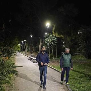 Taggia: entro il 25 aprile i giardini di via Magellano saranno completati, prossimo step le panchine