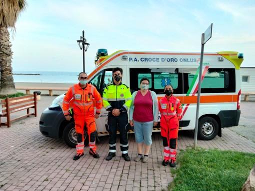 Tour vaccinale quest'oggi a San Bartolomeo al Mare: sono state iniettate 29 'prime dosi' (Foto)