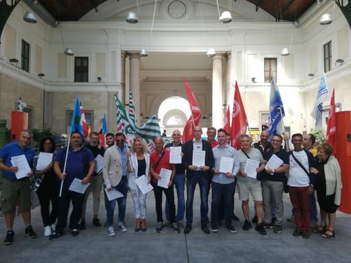 Appalti ferroviari in Liguria: oggi sciopero per intera giornata in tutta la Liguria