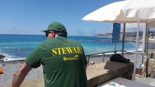 Imperia: spiagge libere con steward e app, iniziata la sperimentazione contro gli assembramenti