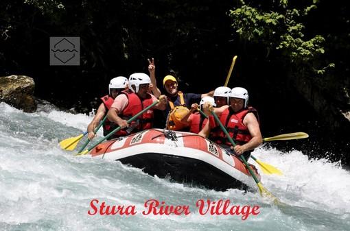 Scopri le discese in rafting allo Stura River Village di Gaiola. Ecco l'offerta Family