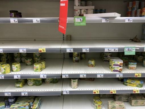 Coronavirus: nella nostra regione salgono gli acquisti di prodotti alimentari, la conferma da Coldiretti