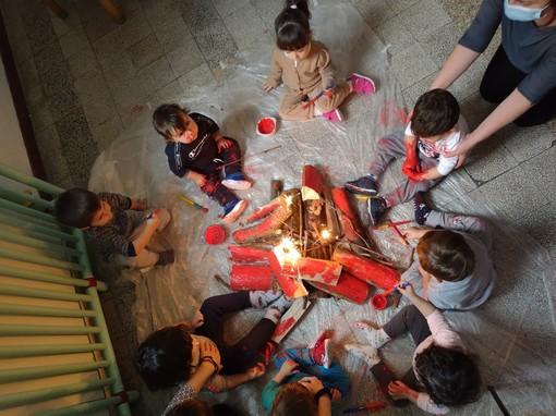 Taggia: festeggiamenti di San Benedetto per il servizio domiciliare 'Le Bollicine' (foto)