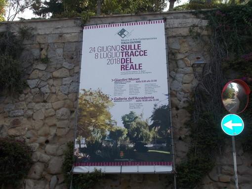 Bordighera: inaugurata ieri pomeriggio ai Giardini Monet, Mostra di Arte Contemporanea dell'Accademia 'Balbo'