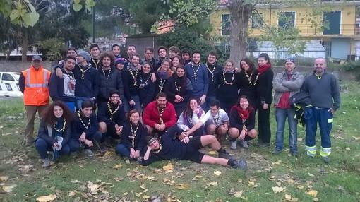 Taggia: gruppo Scout dell'Agesci al lavoro lungo la pista ciclabile, la soddisfazione dell'assessore Luca Napoli